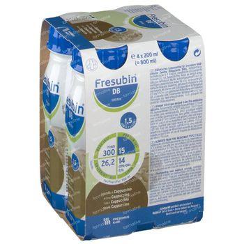Fresubin DB Drink Cappuccino 4x200 ml