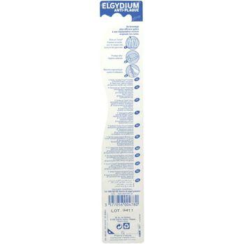 Elgydium Tandenborstel Anti-Tandplak Medium 1 stuk