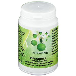 Curakrill Softgels 500mg 60 capsules