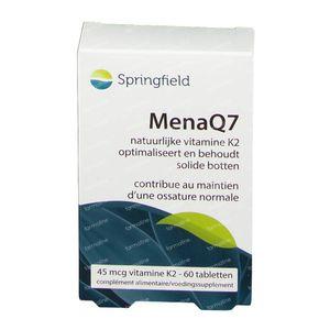 MenaQ7 vitamine K2 45 mcg 60 tabletten