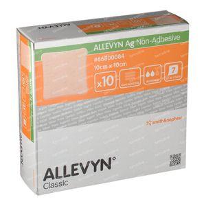 Allevyn AG Niet Adhesief 10x10CM 66800084 10 stuks