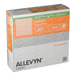 Allevyn AG Non Adhesive 10x10CM 66800084 10 pieces