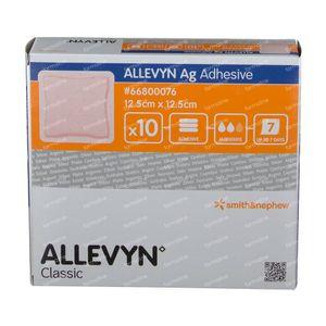 Allevyn AG Adhesief 12,5x12,5CM 66800076 10 stuk