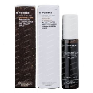 Korres Quercetin & Oak Antiaging & Antiwrinkle Day Cream SPF12 50 ml