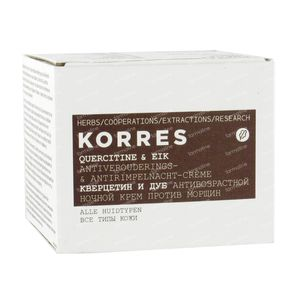 Korres Quercetin & Oak Antiaging & Antiwrinkle Night Cream 40 ml