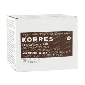 Korres Quercetin & Oak Nachtcrème 40 ml