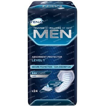 TENA Men Absorberende Bescherming Level 1 (Licht) 24 stuks