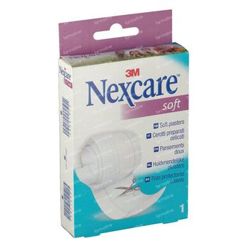 3M Nexcare Soft Strips Bande 8cm x 1m N0501B 1 m