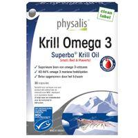 Physalis Krill Omega 3 30  kapseln