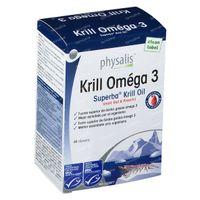 Physalis Krill Omega 3 60  capsules