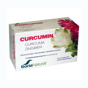 Soria Natural Curcumin 60 St Tablets