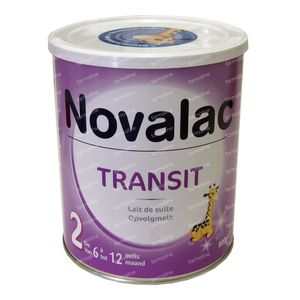 Novalac Transit 2 Opvolgmelk 800 g