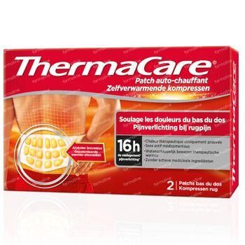 ThermaCare Wärmeumschläge Rucksenschmerzen 2 st