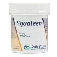Deba Squaleen 500mg 100  kapseln