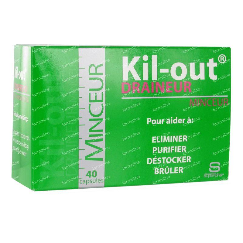 Kil-Out Draineur Minceur 40 capsules - Vente en ligne!
