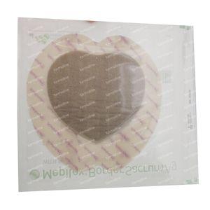 Mepilex Border Sacrum AG Stérile 18cm x 18cm 5 pièces