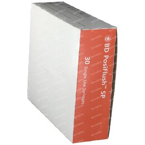 BD Posiflush SP NaCl 0.9% Seringue 10ml 30 pièces