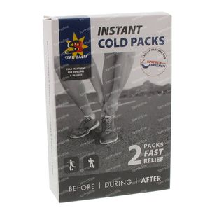 STARBALM Instant Cold Packs 2 pièces