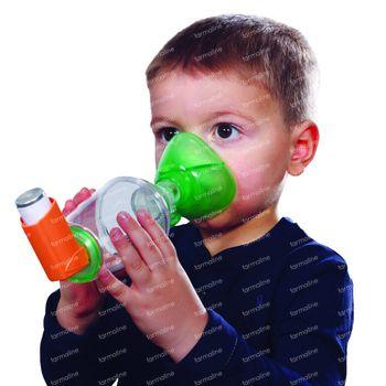 Tipshaler Inhalatiekamer Pediatrie met masker -6 jaar 1 pièce