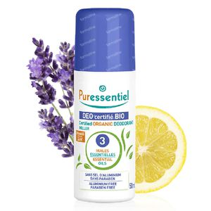 Puressentiel Bio Deo 3 Ess.Oliën Stick 50 ml