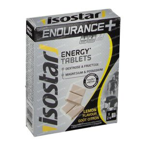 Isostar High Energy Tabletten Citroen 24 tabletten