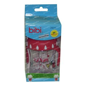 Bibi Suction Bottle Musti 2010 250ml 250 ml