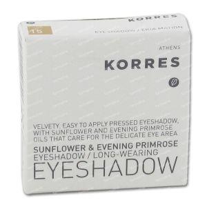 Korres Sunflower&Primrose Eyeshadow 15 Nude 1,80 g