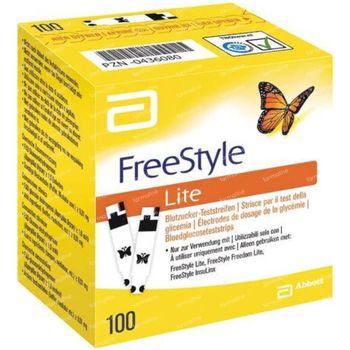 Freestyle Lite Strips 100 stuks