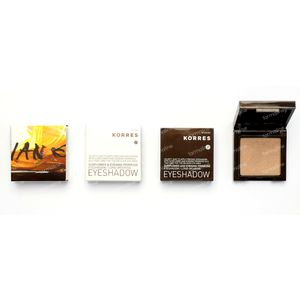 Korres Sunflower & Evening Primrose Eyeshadow 31 Bronze Brown 1,80 g