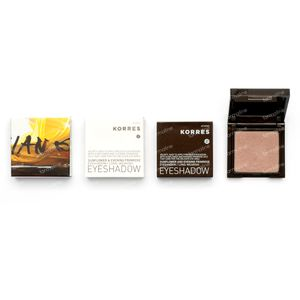 Korres Sunflower & Evening Primrose Eyeshadow 66 Pink 1,80 g