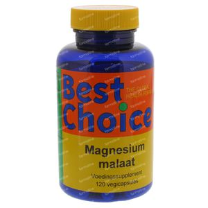 Best Choice Magnesiummalaat 500 120 St Capsules