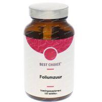 Best Choice Foliumzuur 100  tabletten