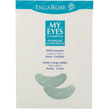 Incarose My Eyes Hydrogel Active Patch 2 pièces