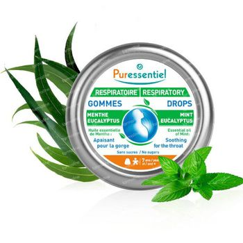Puressentiel Respiration Gommes Adoucissantes 45 g