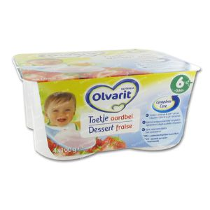 Olvarit Dessert Strawberry 400 g