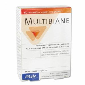 Multibiane 586mg 30 St Capsule