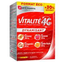 Forté Pharma Energie Vitalité 4G Prix Réduit 30x10 ml ampoules