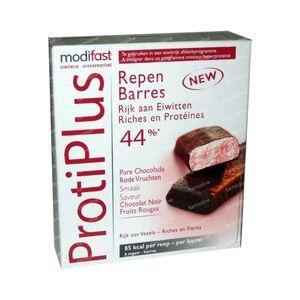 Modifast Proti Plus Barre Fruits Rouges 162 g