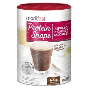 Modifast ProtiPlus Milkshake Chocolade 540 g