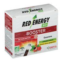 Ortis Red Energy Bio  Zonder Alcohol 10x15 ml