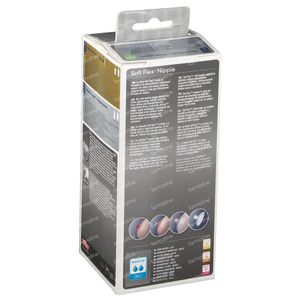 Natural Touch Biberon Propyl. 3M Vert + Sucette 330ml 1 pièce