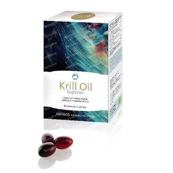 Nataos Key Nutrition Krill Oil Superior 500mg 60 kapseln