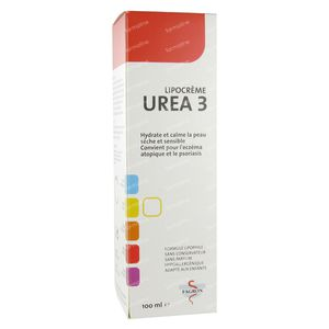 Urea 3 Lipocrème 100 ml