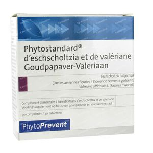 Phytostandard Gold Poppy - Valeriaan 30 St Compresse