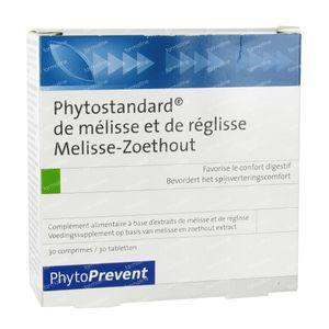 Phytostandard Melisse - Reglisse 30 comprimés