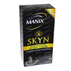 Manix Skyn Condoms 12 pieces