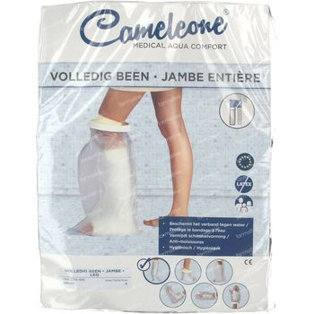 Cameleone Aquaprotection Jambe Entiere Transparant S 1 st