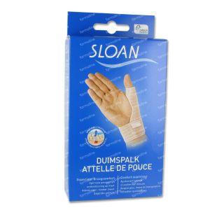 Sloan Attelle Pouce S-M 1 pièce