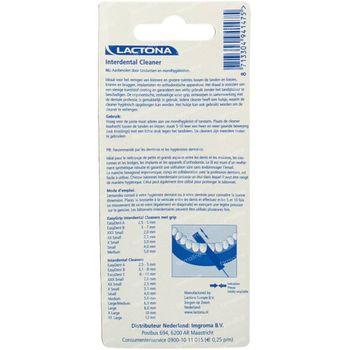 Lactona Easy Grip Interd. Clean 2.0mm Xxxs 7 st