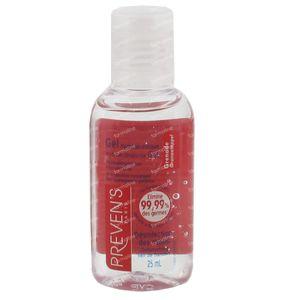 Prevens Hand Gel Hydroalcoholic Pomegranate 25 ml